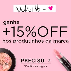 Vult com +15% OFF Acumulado