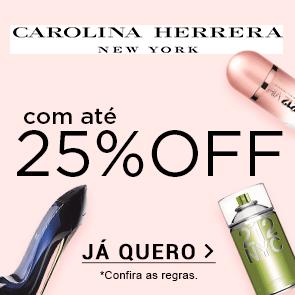 Carolina Herrera com Até 25% OFF