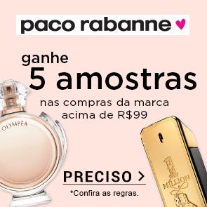 Paco Rabanne + 5 Amostras