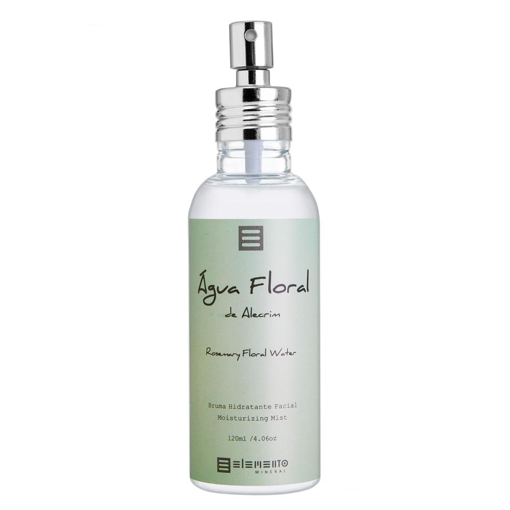 Bruma Hidratante Facial Elemento Mineral - Água Floral de Alecrim - 120ml