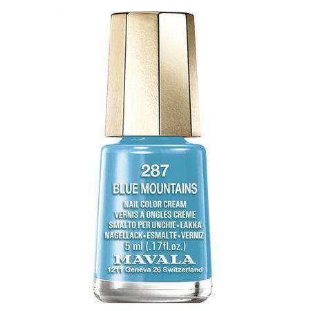 Esmalte Mavala Mini Colors - Color Inspiration - Blue Mountains