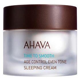 rejuvenescedor-facial-ahava-age-control-even-tone-sleeping-cream