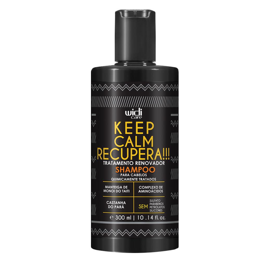 Widi Care Keep Calm Recupera! - Shampoo de Tratamento