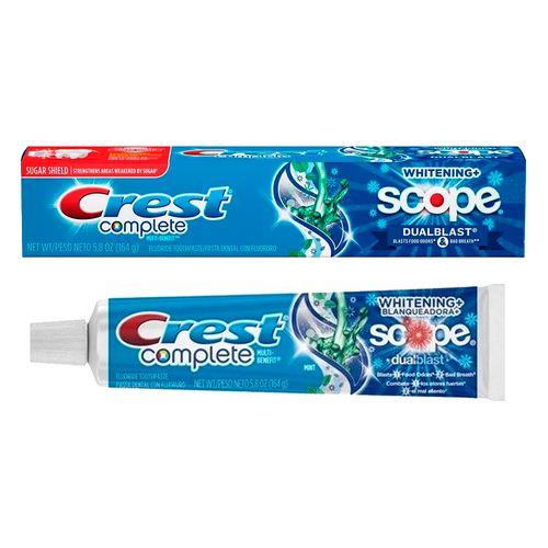 Creme Dental Crest - Complete Dualblast Mint 164g