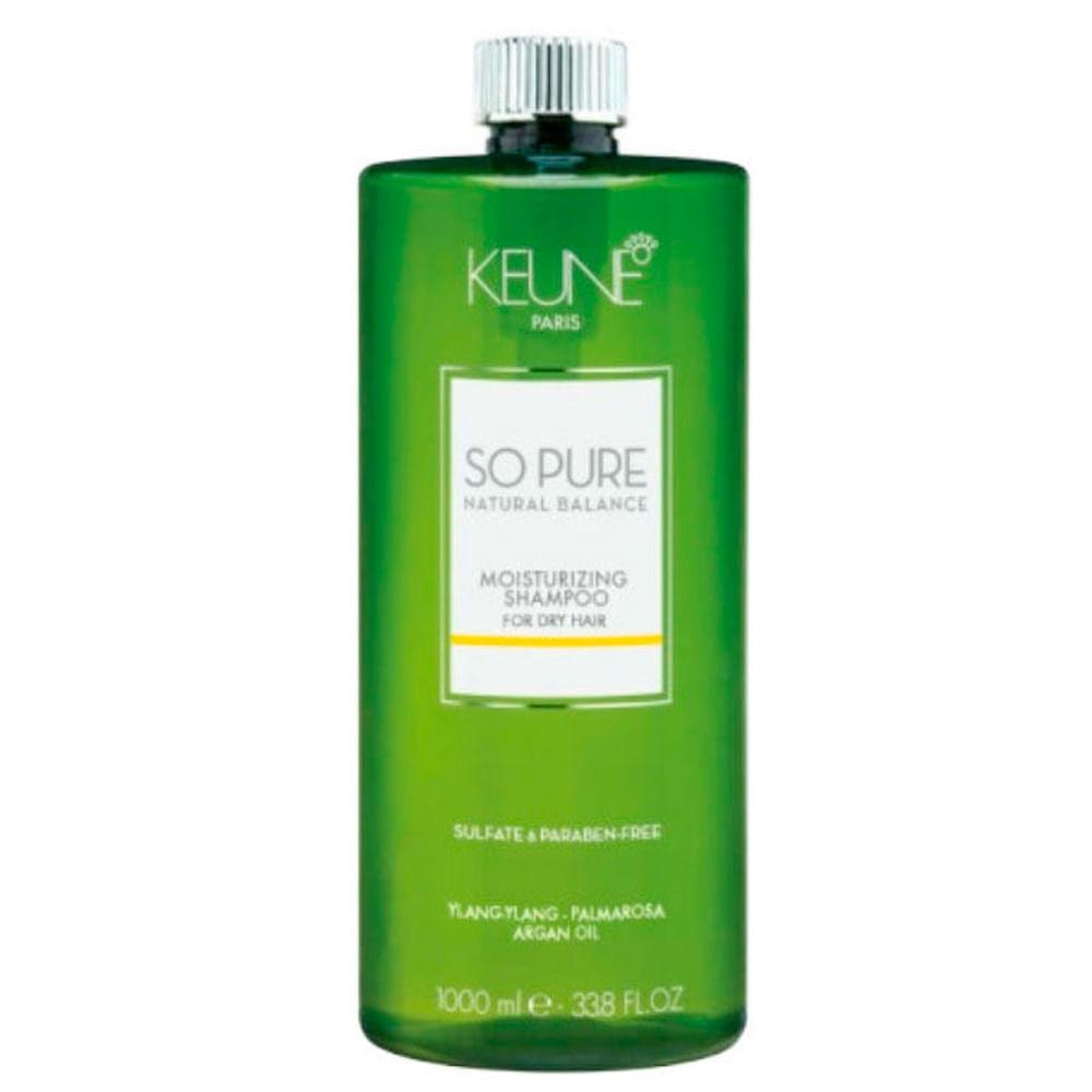 Keune So Pure Moisturizing - Shampoo Hidratante - 1L