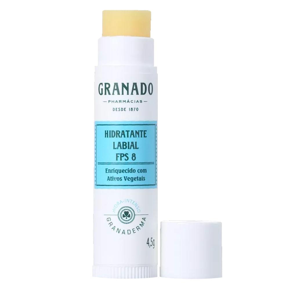 Hidratante Labial FPS 8 Granado - Granaderma - Incolor