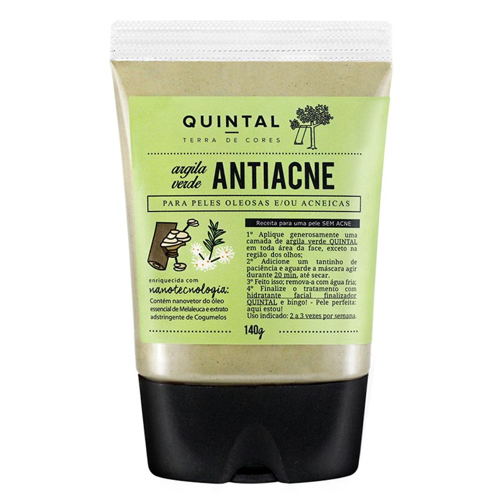Máscara Facial Quintal - Argila Verde Antiacne - 140g