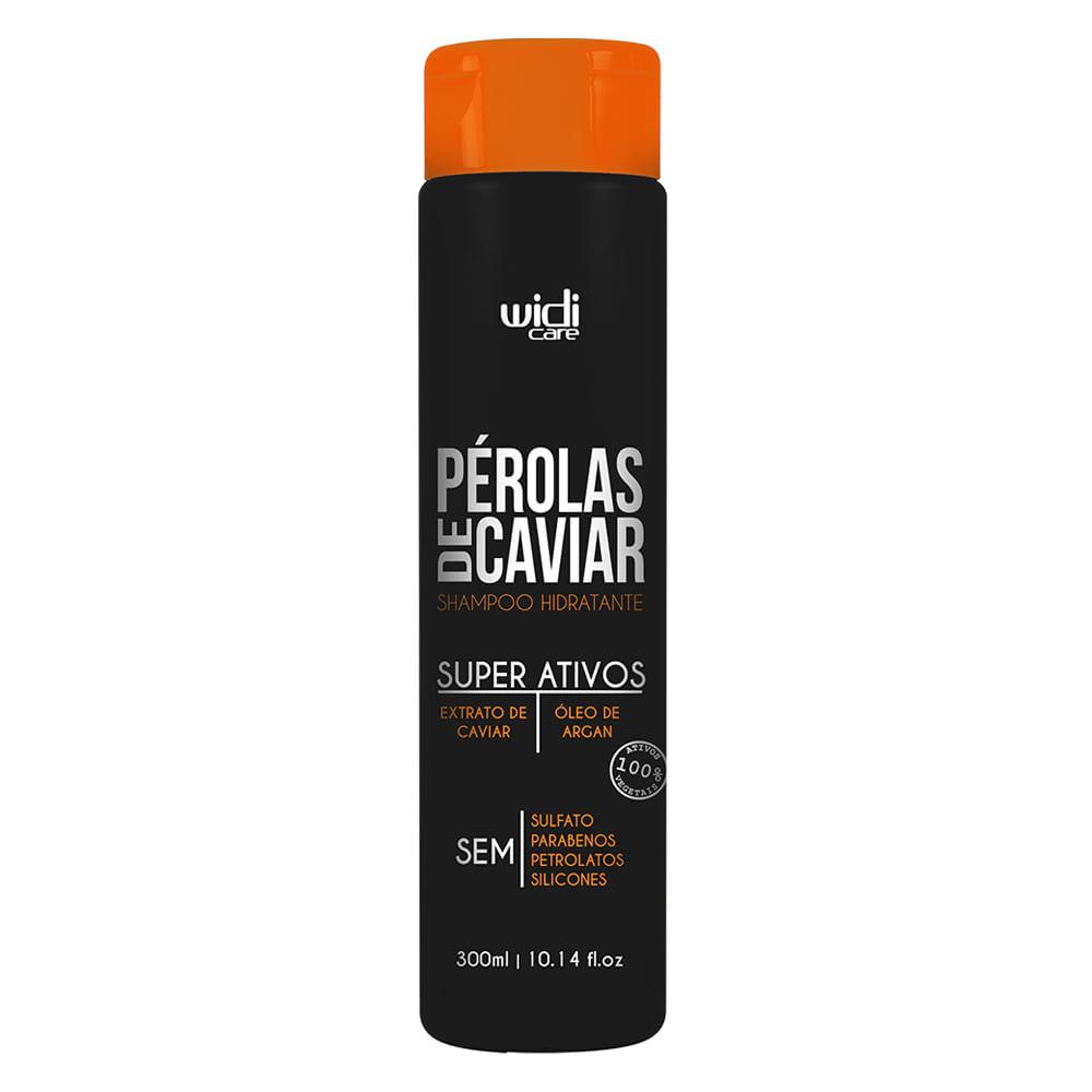 Widi Care Pérolas de Caviar - Shampoo Hidratante - 300ml