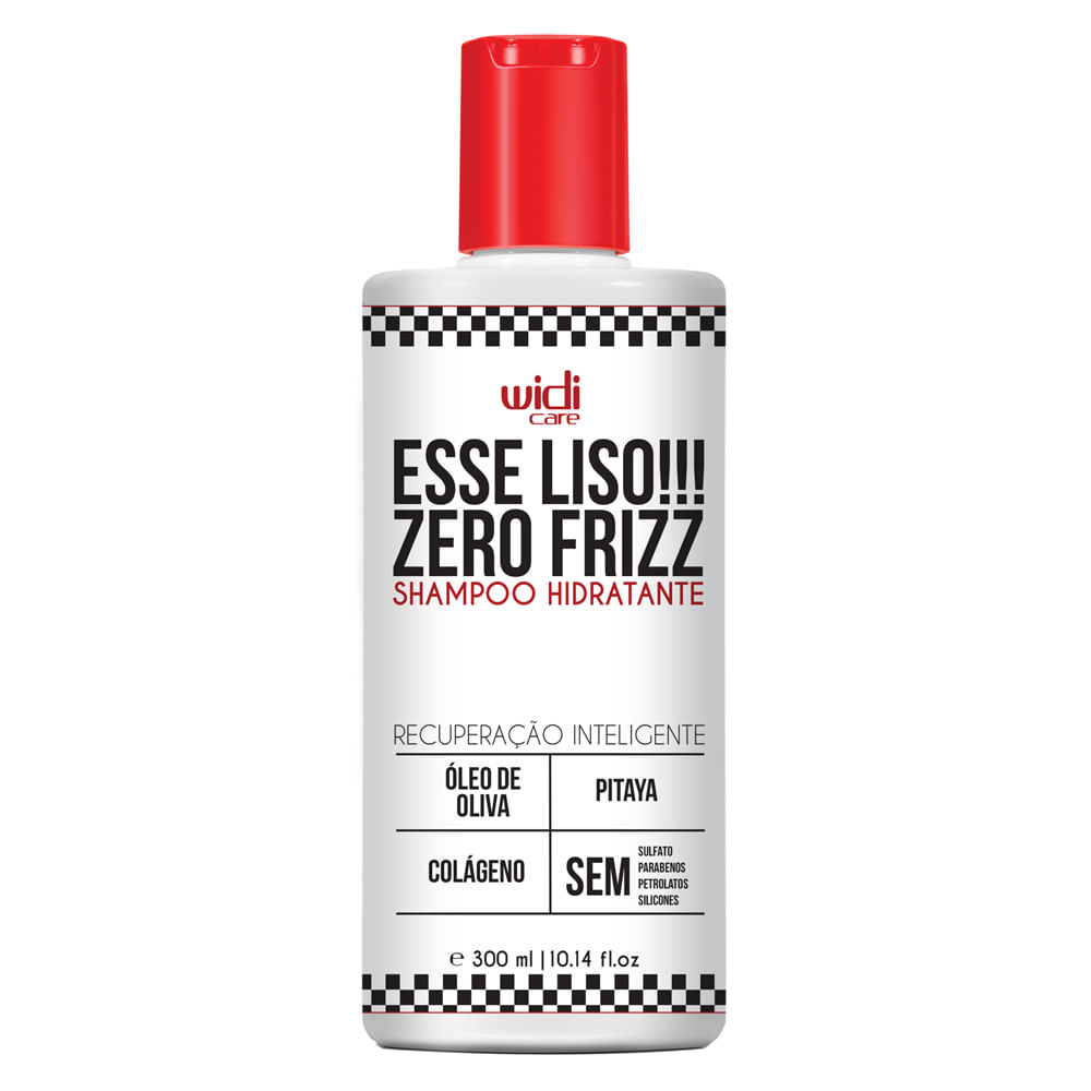 Widi Care Esse Liso Zero Frizz - Shampoo Hidratante - 300ml