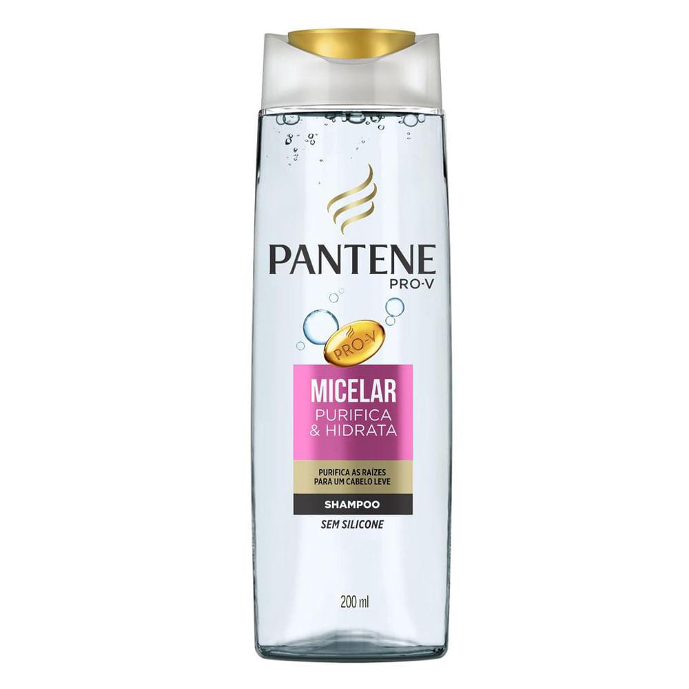 Pantene Micelar Purifica & Hidrata - Shampoo - 200ml