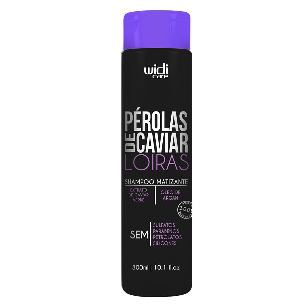 Widi care Pérolas de Caviar Loiras - Shampoo Matizante