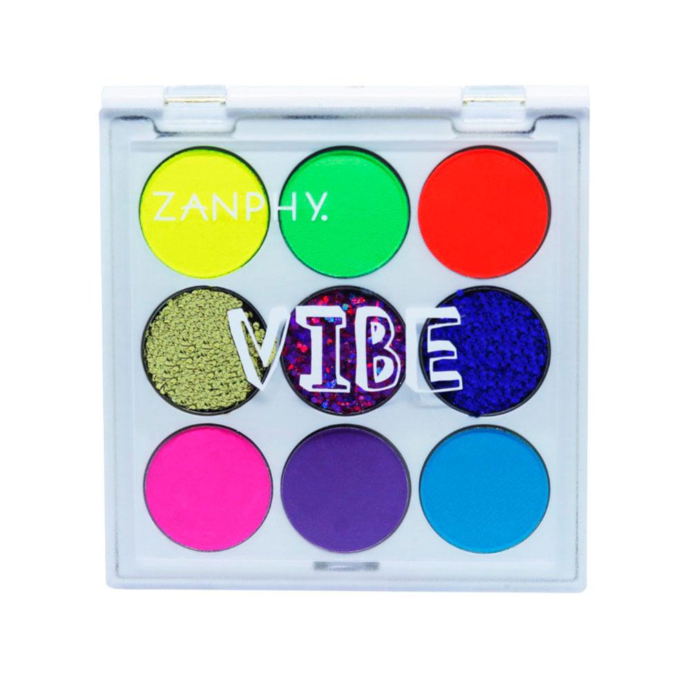 Paleta de Sombras Neon Zanphy Vibe - 1Un