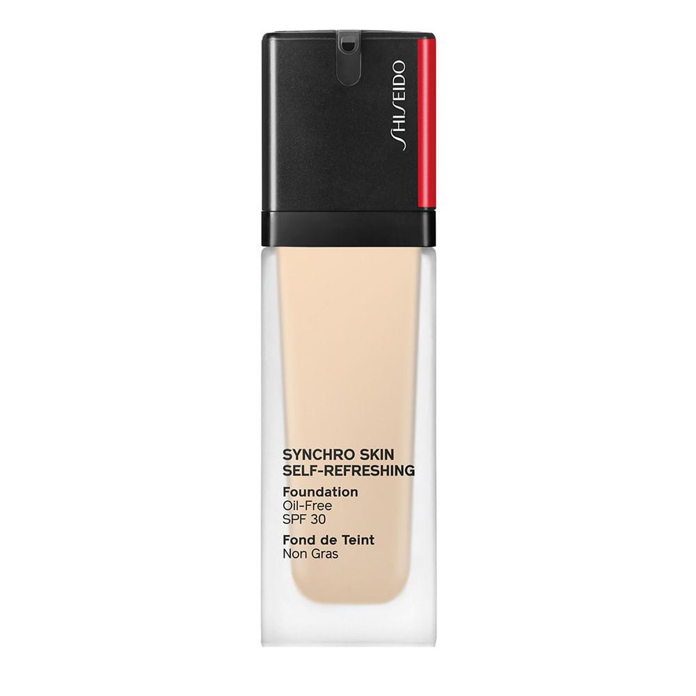 Base Líquida Shiseido Synchro Skin Self-Refreshing SPF30 - 120 Ivory