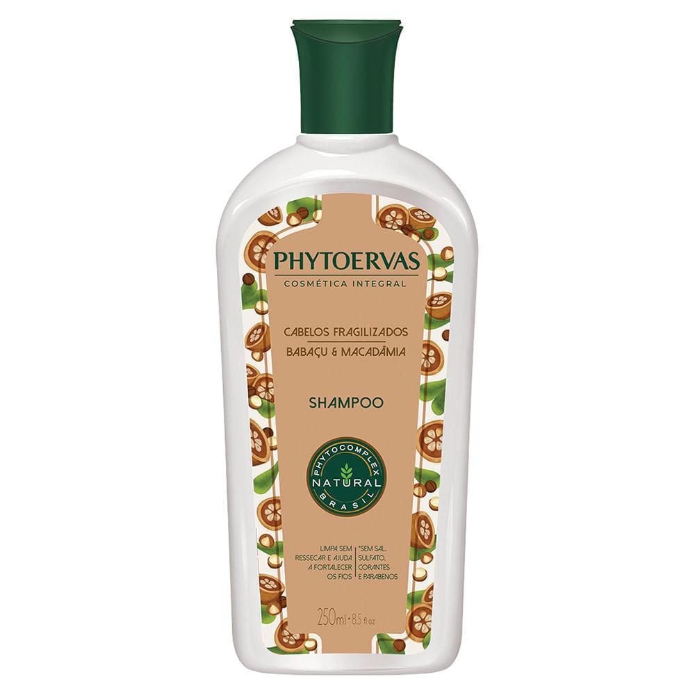 Phytoervas Cabelos Fragilizados Babaçu e Macadâmia – Shampoo - 250ml