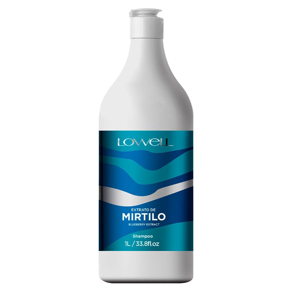 Lowell Extrato de Mirtillo Shampoo Para cabelos Oleosos - 1L