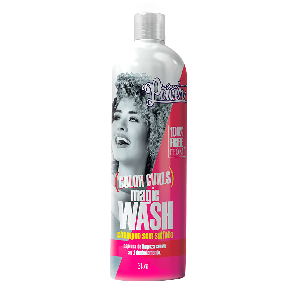 Soul Power Color Curls Magic Wasch Shampoo - 315ml