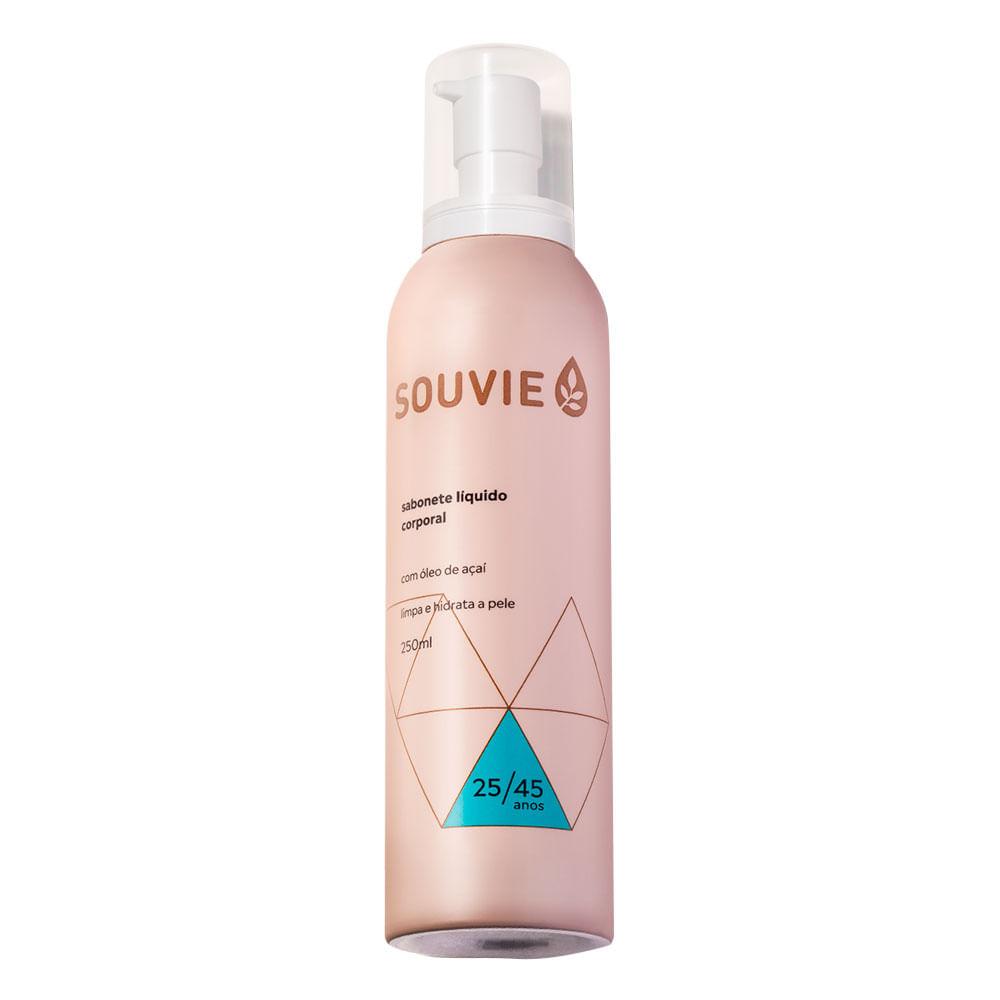 Sabonete Líquido Corporal Souvie – Sabonete Hidratante 25/45 - 250ml