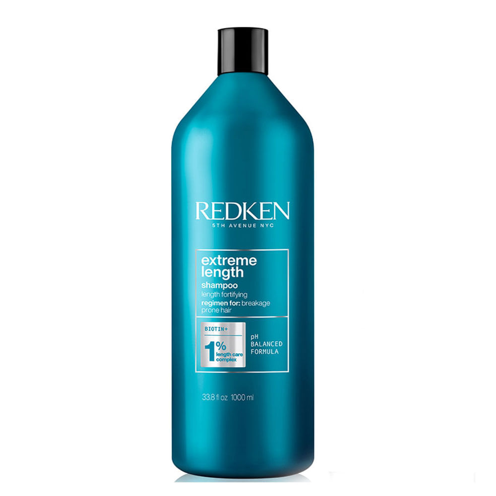Redken Extreme Length Shampoo Antiquebra - 1L