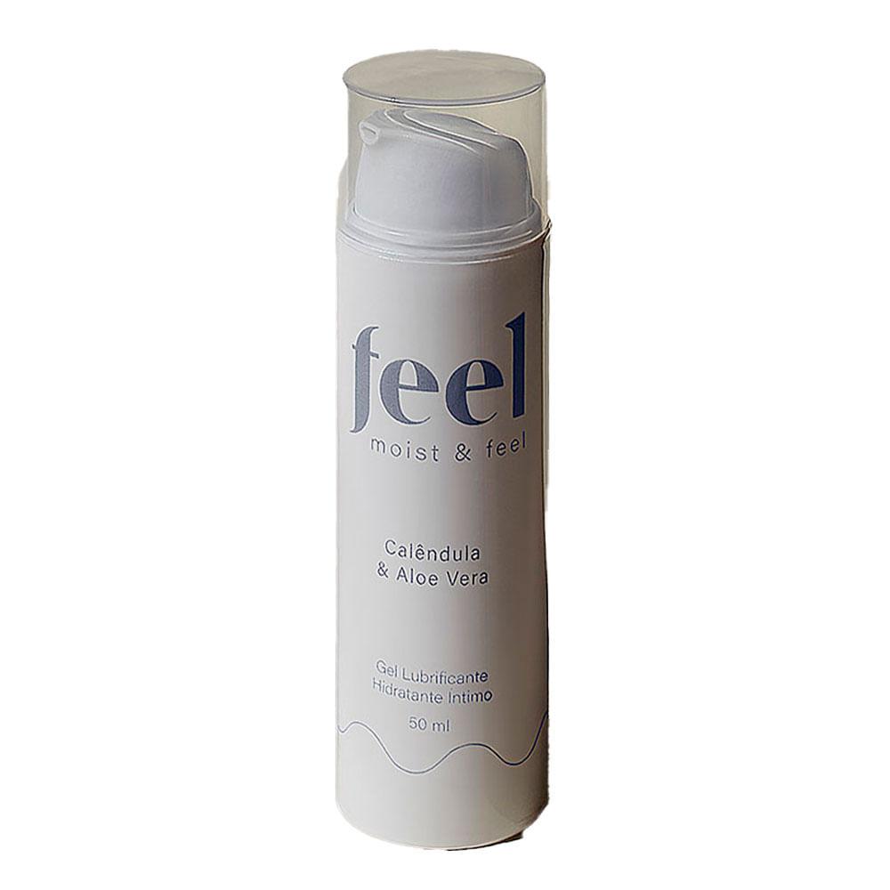 Gel Lubrificante e Hidratante Íntimo Feel Moist & Feel - 50ml