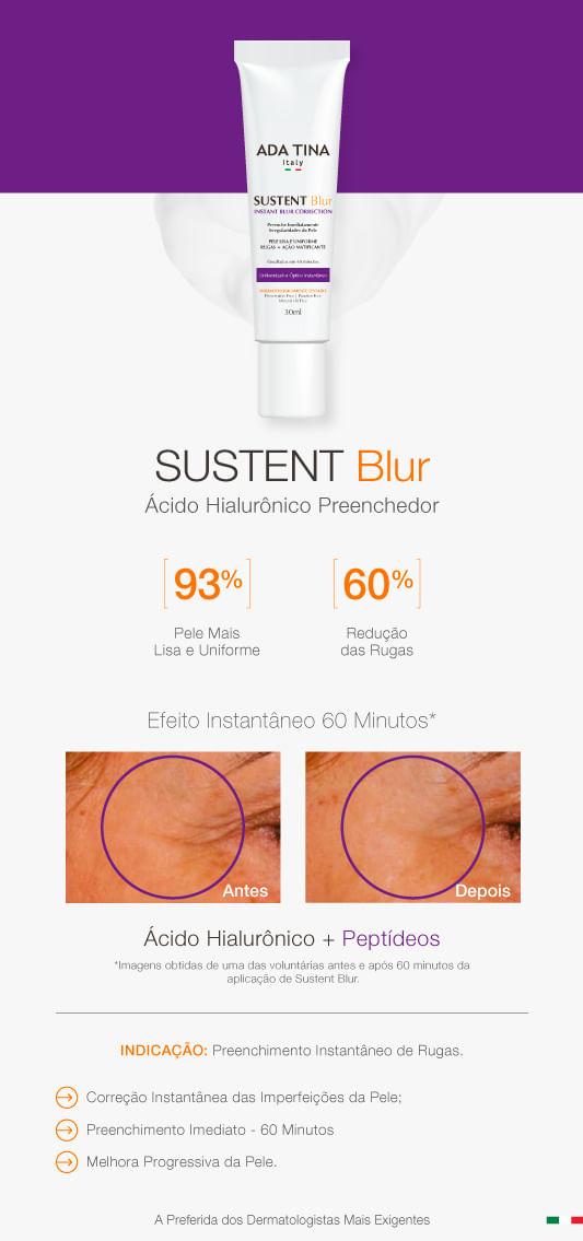 Sustent Blur Instant Blur Correction Ada Tina -Tratamento Antirrugas