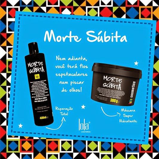 Creme Morte Súbita – Produtos para cabelos - Lola Cosmetics.