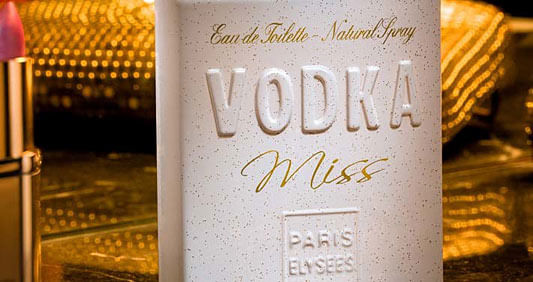 Miss Vodka Eau de Toilette Paris Elysees - Perfume Feminino
