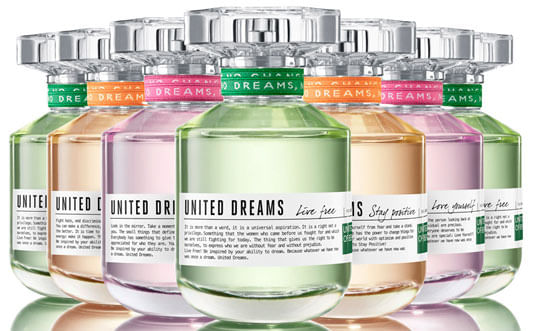 Perfume Importado United Dreams United Dreams Live Free EDT -  Benetton - Perfume Feminino - United Colors of Benetton