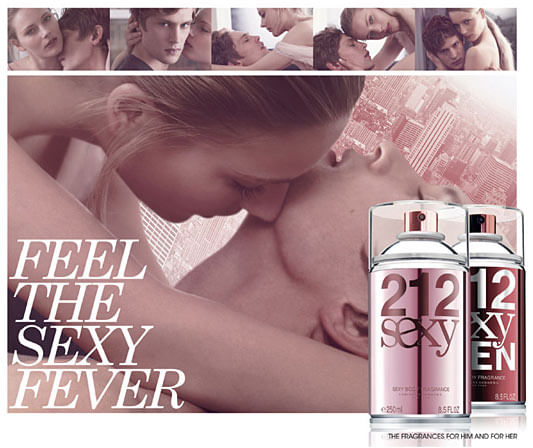 Perfume Importado Masculino 212 Sexy Body Spray by Carolina Herrera