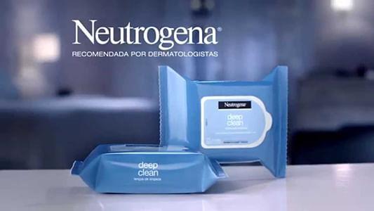 Deep Clean Neutrogena - Lenços de Limpeza Facial