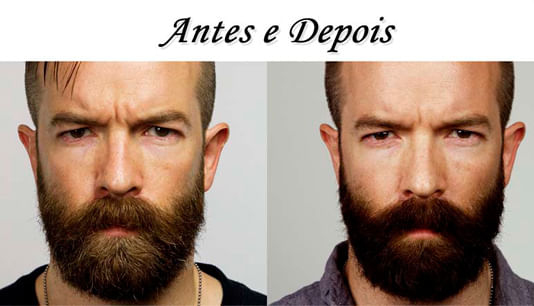 Shampoo Escurecedor de Barba Dexe Black Beard