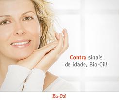 Bio-oil contra sinais de idade