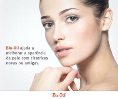 Bio-oil ajuda a melhorar a aparência da pele com cicatrizes novas ou antigas