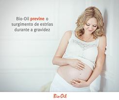 Bio Oil previne o surgimento de estrias durante a gravidez