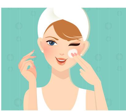 Limpeza de pele ajuda no rejuvenescimento facial