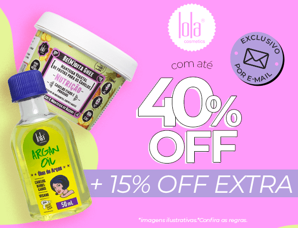 10% extra em Lola!