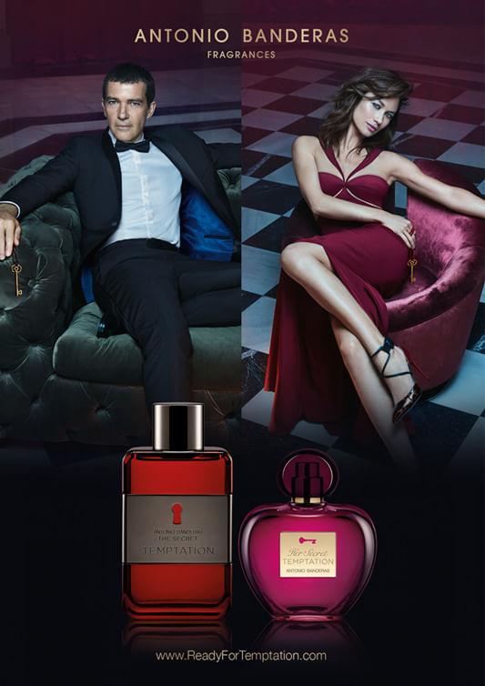 a36bedec6 Perfume Her Secret Temptation Antonio Banderas - Época Cosméticos