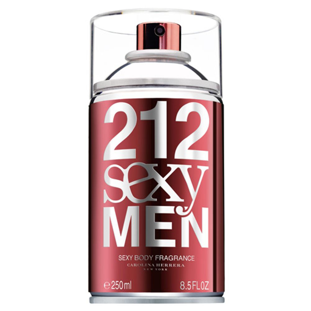 92b8d7416 212 Sexy Men Carolina Herrera Body Spray para o corpo - Época Cosméticos