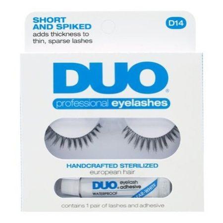 Cílios Postiços Eyelashes D14 Duo - Cílios Postiços - Kit