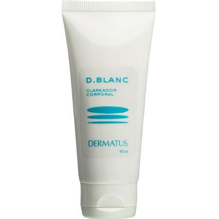D-Blanc Clareador Corporal Dermatus - Clareador Corporal - 60g