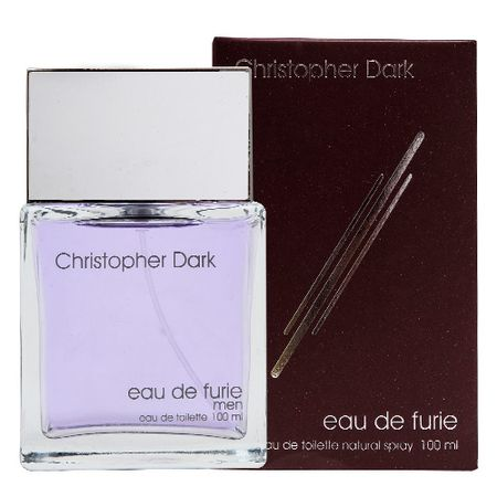 Eau de Furie Man Christopher Dark - Perfume Masculino - Eau de Toilette - 100ml