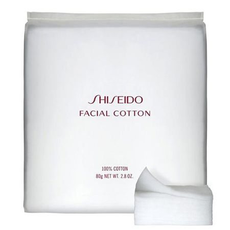 Facial Cotton Shiseido - Discos Demaquilantes - 165 Un