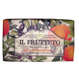 Il-Frutteto-Azeite-De-Oliva-Com-Tangerina-Nesti-Dante---Sabonete-Frutal-Em-Barra