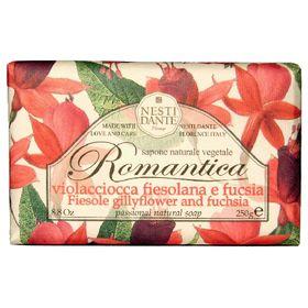 Romantica-Cravo-Fiesolano-E-Fucsia-Nesti-Dante---Sabonete-Perfumado-Em-Barra