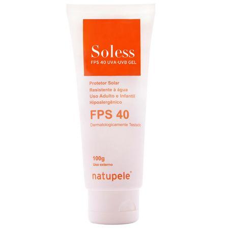 Soless FPS 40 Natupele - Protetor Solar - 100g
