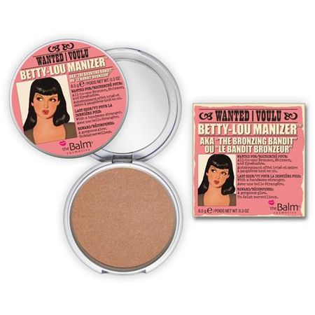 Betty-Lou Manizer The Balm - Pó Compacto Bronzeador - Bronzer