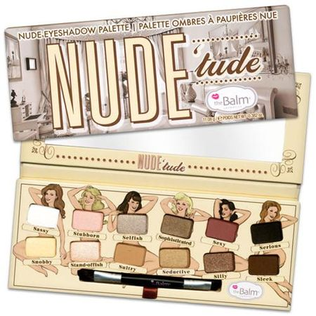 Nude Tude Palette The Balm - Paleta de Sombras - Estojo