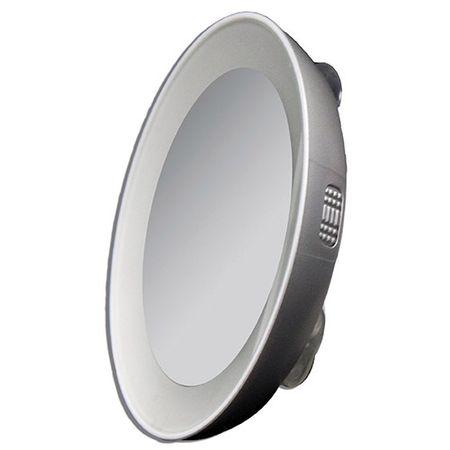 Tweezerman 15x com Luz Twezzerman - Espelho de Aumento Iluminado - 1 Un