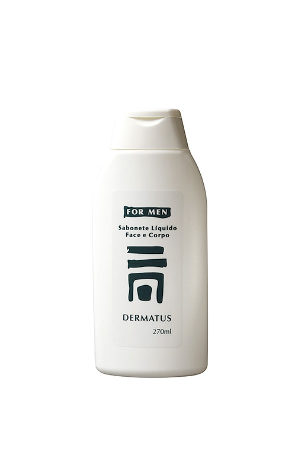 Foto 1 - Dermatus For Men Sabonete Face e Corpo Dermatus - Limpador Facial e Corporal - 270ml
