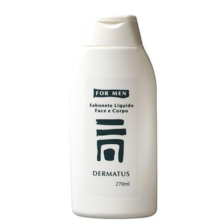 Dermatus For Men Sabonete Face e Corpo Dermatus - Limpador Facial e Corporal -...