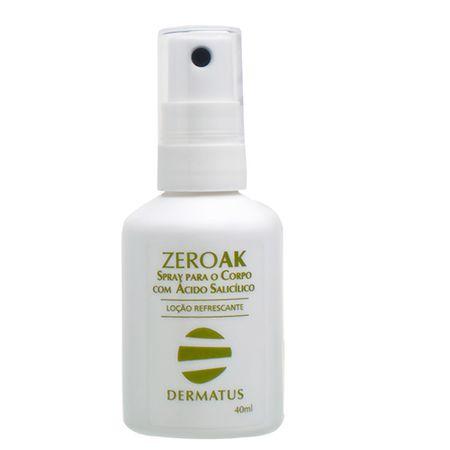 ZeroAK Spray para o Corpo Dermatus - Tratamento Antiacne - 40ml